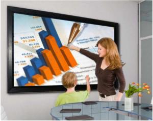 """Noleggio Monitor Professionale 55"""" Touchscreen Full HD"""